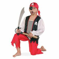 Costume De Pirate Gr.104 -164 Carnaval Enfants Costume Pirate Costume De Pirate
