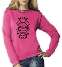 Sloth Running Team Women Sweatshirt Costume Lazy Sloth Ask Me Why Hipster Funny