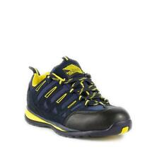 Earth Works Safety Footwear - Earth Works Mens Navy Suede Lace Up Safety Trainer