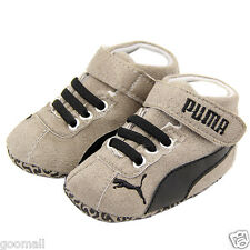 Gray Cotton soft  baby boys crib shoes first walkers Toddler sneakers #pu010#