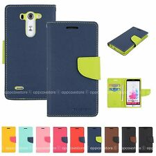 LG G3 S Wallet Case Magnetic Button G3 Mini G3 Beat Cover