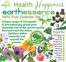 earthessence PURE ESSENTIAL OIL BLENDS Pure ~ Natural ~ Organic
