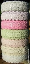 Fabric Lace Washi Tape Self Adhesive Stick On Pastel Shabby Chic Cotton Trim