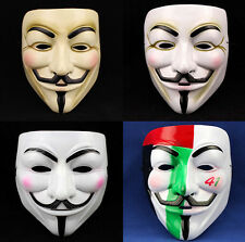 Cosplay Halloween Party Movie Guy Fawkes V FOR Vendetta Anonymous Unisex Mask