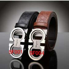 100% brand new hot fashion men's Genuine Leather Belt -Men's favorite gift