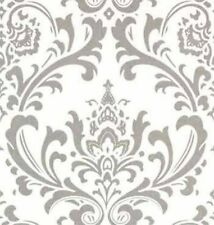 Traditional Scroll Damask Look Premier Drapery Upholstery Fabric in 12 colors
