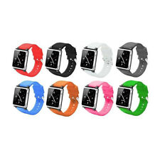 Silicone Watch Band Wrist Strap Case Cover For Apple iPod Nano 6 6th Generation
