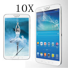 10 x Ultra Clear Front Screen Protectors Film For Samsung Galaxy Note/Tab Tablet