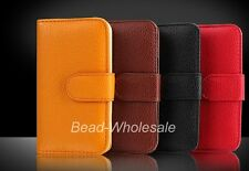 Women Wallet Flip Leather Stand Cover Mobile Phone Case for iPhone Many Colors