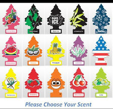 Little Trees Car Home Office Hanging Air Freshener 2,3,6,12 Trees of diff. scent