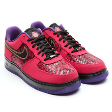 Nike Air Force 1 Year Of The Snake Red-Black-Purple YOTS 555106 600