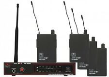 Galaxy AS-900 AnySpot Wireless In-Ear Monitor System (1 or 4 User)