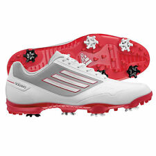New Adidas 2014 Men's Adizero One Golf Shoes - White/Red/Grey - Pick Size