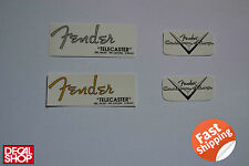 2 X Decal Decalcomania Replica Fender Telecaster Classic U.S.A