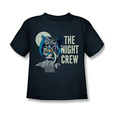DC Comics Batman Night Crew Kids T-Shirt (Ages 4-7)