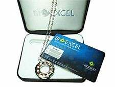 Bioexcel Premium Quantum Energy Healing Pendant - Round Hole/Red Crystal - Packs