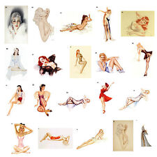 Alberto Vargas Art / Calender / Pin Up - A2 Size Poster Print Selection #3