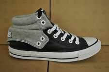CONVERSE CT PADDED COLLAR 2 MID HI HIGH TOPS TRAINERS BLACK WHITE BLUE 135615C