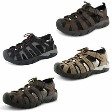 New Mens Gola Closed Toe Sports Trekking Walking Hiking Velcro Sandals Size 7-12