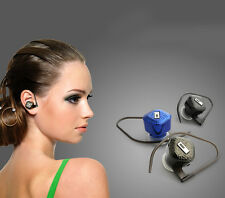 Smallest Wireless Bluetooth Headphone Headset For Cell Phone Iphone Samsung HTC