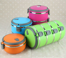 Stainless Steel Thermal Insulation Lunch Box  Multi-Layer Food Preservation Box