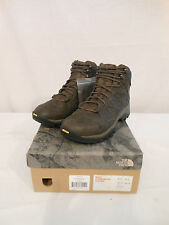 NEW NORTH FACE MENS STORM MID WP LEATHER COFFEE BROWN