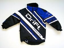 Drift Youth Qualifier Snowmobile / Winter Jacket - Blue - Size 4 Only - 5245-11*