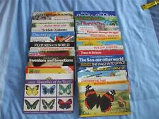 BROOKE BOND TEA CARD ALBUMS:UNUSED-NO CARDS:BUY INDIVIDUALLY