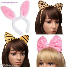 Animal Ears Headpiece Headband Head Alice Band Adult Child Hen Night Fancy Dress
