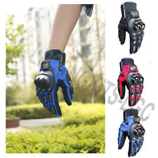 Full Finger Gloves Racing Motorcycle Motorbike Motocross Cycling Bike M L XL