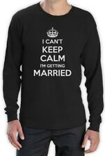 Can't Keep Calm I'm Getting Married Long Sleeve T-Shirt Funny Stag Hen Party