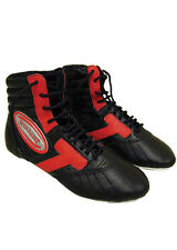 Woldorf USA Kick Boxing,Boxing Shoes in Leather for Training in size 5-13