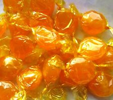 Old Time Favorite Sweet Butterscotch Hard Candy Disks Wrapped Bulk Vending