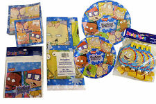 Rugrats Birthday Party Supplies Large Small Napkins Table Cover Treat Loot Bags