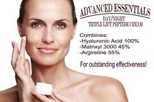 ARGIRELINE 55% MATRIXYL 3000 45% HYALURONIC ACID 100% COLLAGEN FIRMING CREAM