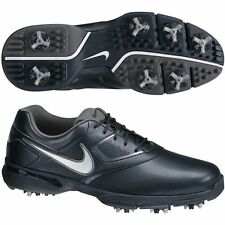 New Nike Heritage III 3 Mens Golf Shoes Black/White WIDE 552070-001 -Pick Size