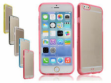 "Soft TPU Gel Bumper Hard Clear Back Shell Skin Case Cover For 4.7"" iPhone 6"