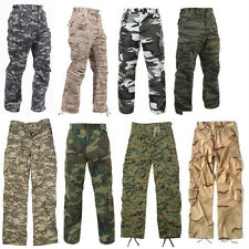 Rothco Military Camouflage Paratrooper Tactical BDU Fatigue Camo Pants