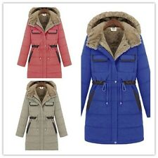women's Outdoor leisure Hooded winter collection padded jacket long coat