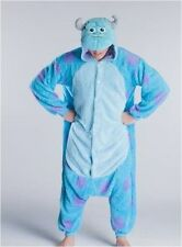 Adult Pajamas Kigurumi Cosplay Costume Animal Onesie Monster University Sulley B