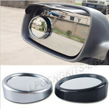2pcs Car Round Convex Blind Spot Wide Angle Rear View Side Mirror