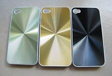CD Pattern Plastic Case For Apple iphone 4  4G (Green,Black , Gold Color)