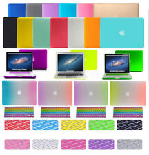 """Rubberized Matte Hard Case Cover Skin Set for Apple Macbook Pro Air 11"""" 13.3 15"""""""