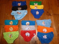 Boys 3 pack various character pants / briefs Disney, Thomas, Mickey