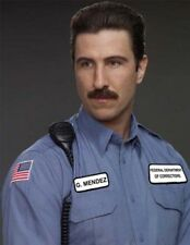 Orange Is New Black MENDEZ SHIRT COSTUME Pornstache Schreiber Halloween Cosplay
