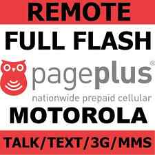 [REMOTE] Flash Verizon Motorola RAZR M XT907 to Page Plus - Talk/Text/3G/MMS