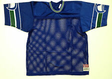 Vintage DS Seattle Seahawks Sand Knit Blue Authentic Blank Football Jersey XS 2X