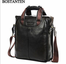 Men's Genuine Real Leather Mens Briefcase Handbag Messenger Shoulder BAG
