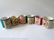 Handmade Mug Cozy Mug Wrap Cotton Linen Holiday Gift