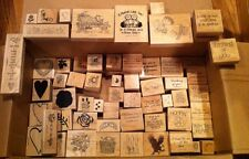 """Wood Mounted Rubber Stamps- 1"""" to 5"""" sizes * Select all the patterns you want!*"""